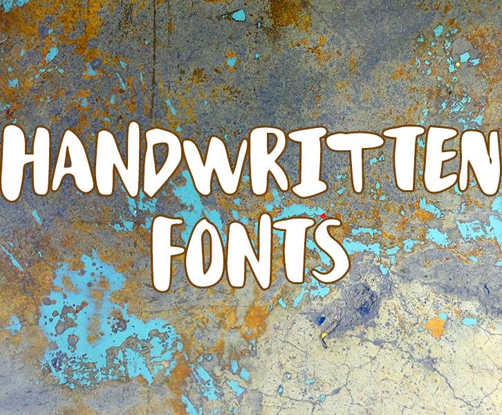 Handwritten Fonts by Mikko Sumulong