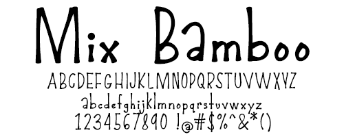 I Try DIY | Font Fix: Mix Bamboo