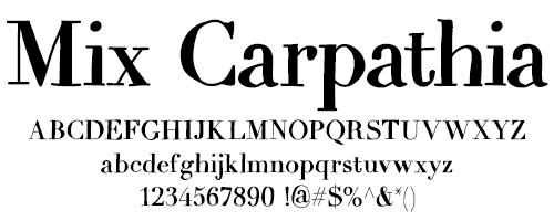 I Try DIY | Font Fix: Mix Carpathia
