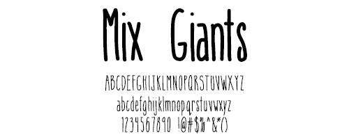 I Try DIY | Font Fix: Mix Giants