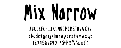I Try DIY | Font Fix: Mix Narrow