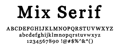 I Try DIY | Font Fix: Mix Serif