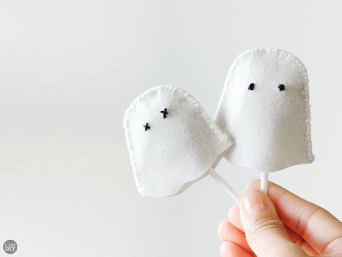 I Try DIY | Halloween Ghost Lollipop Covers