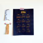 2016 Calendar by Mikko Sumulong I Try DIY