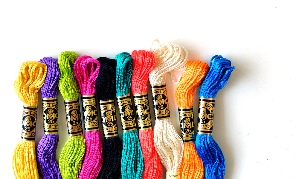 I Try DIY | 10 Must-Have DMC Embroidery Floss Colors