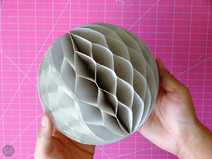 I Try DIY | DIY Honeycomb Lanterns