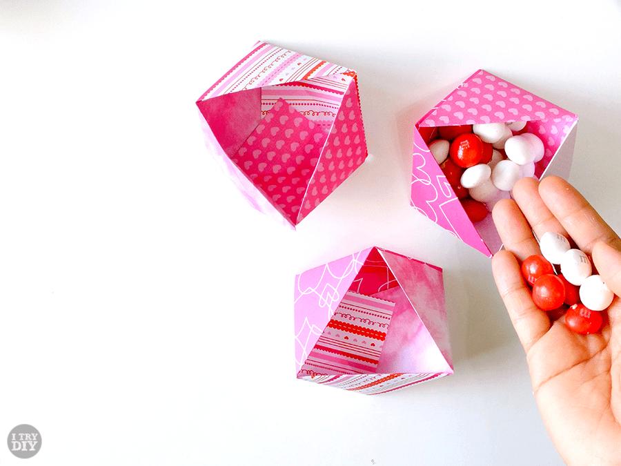 I Try DIY | Triangle Origami Bowls