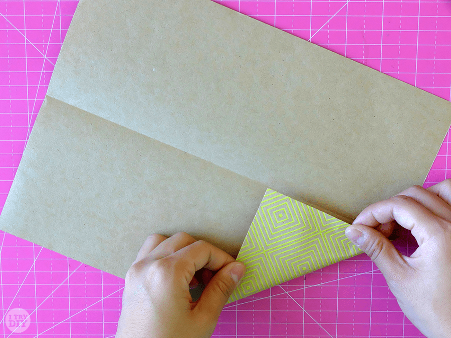 I Try DIY | How to Fold a Letter into a Pull Tab Note