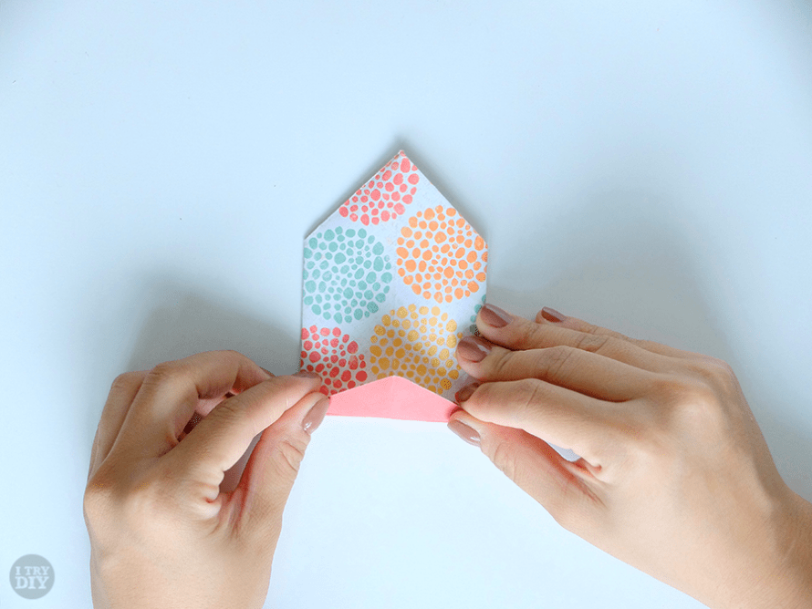 I Try DIY   Origami Chinese Takeout Box