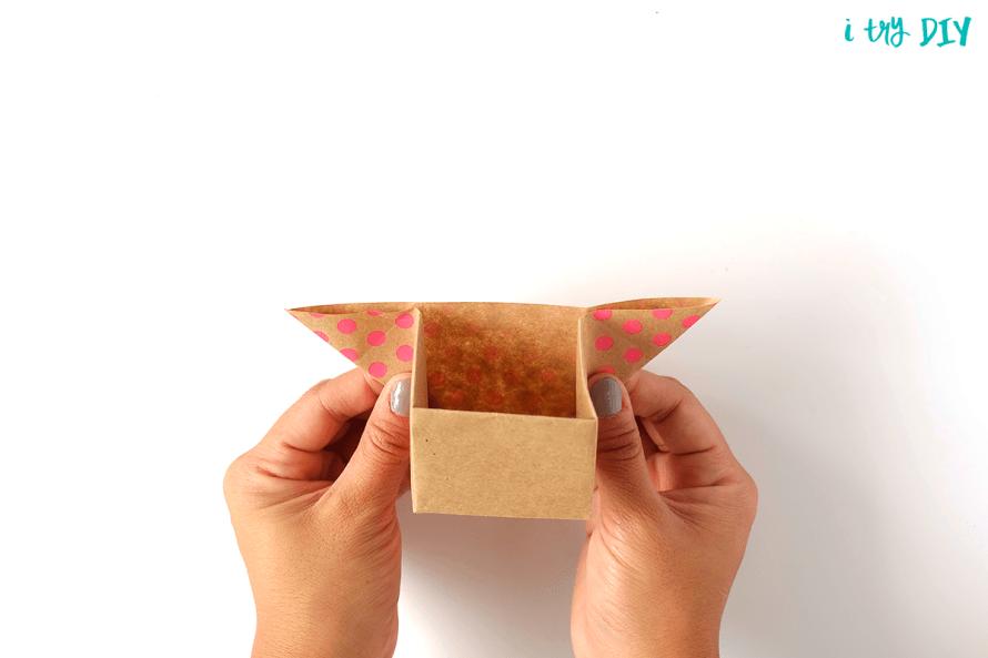I Try DIY   Origami Box Basket