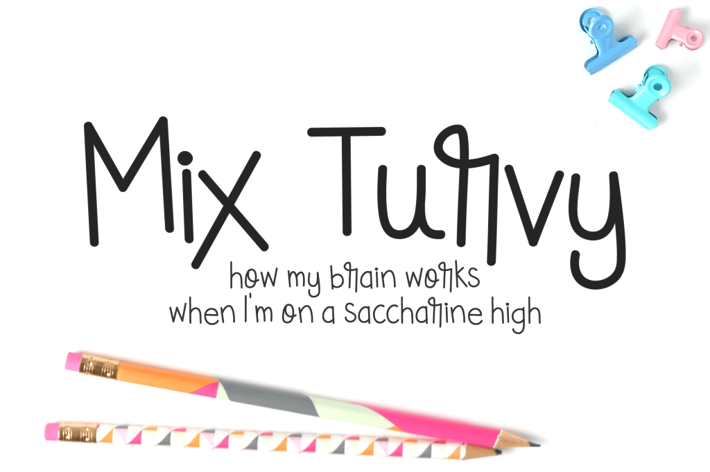 I Try DIY | Font Fix: Mix Turvy