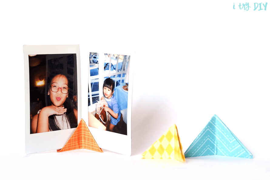 I Try DIY | Origami Photo Stand