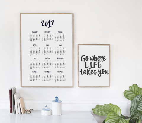 2017 Calendar by Mikko Sumulong