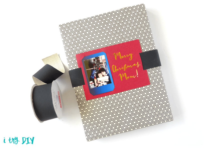 I Try DIY | Instax Belted Gift Tag