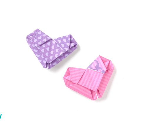 How to Fold a Letter into an Origami Heart (Video Tutorial)   I Try DIY