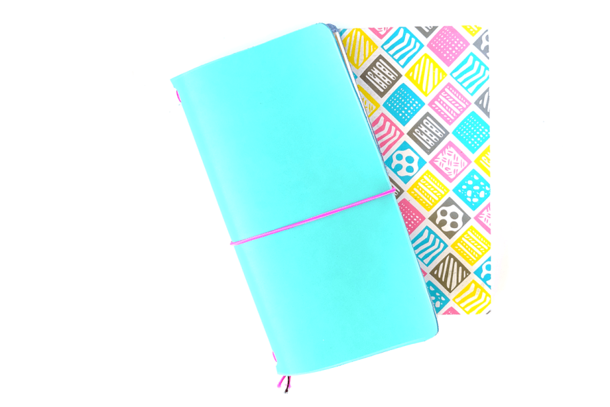 I Try DIY   DIY Leather Cover for Kimidori Project Notebooks