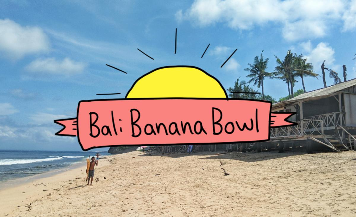 Bali Banana Bowl - Sketchrezept - It's a thing - Titel Bowl