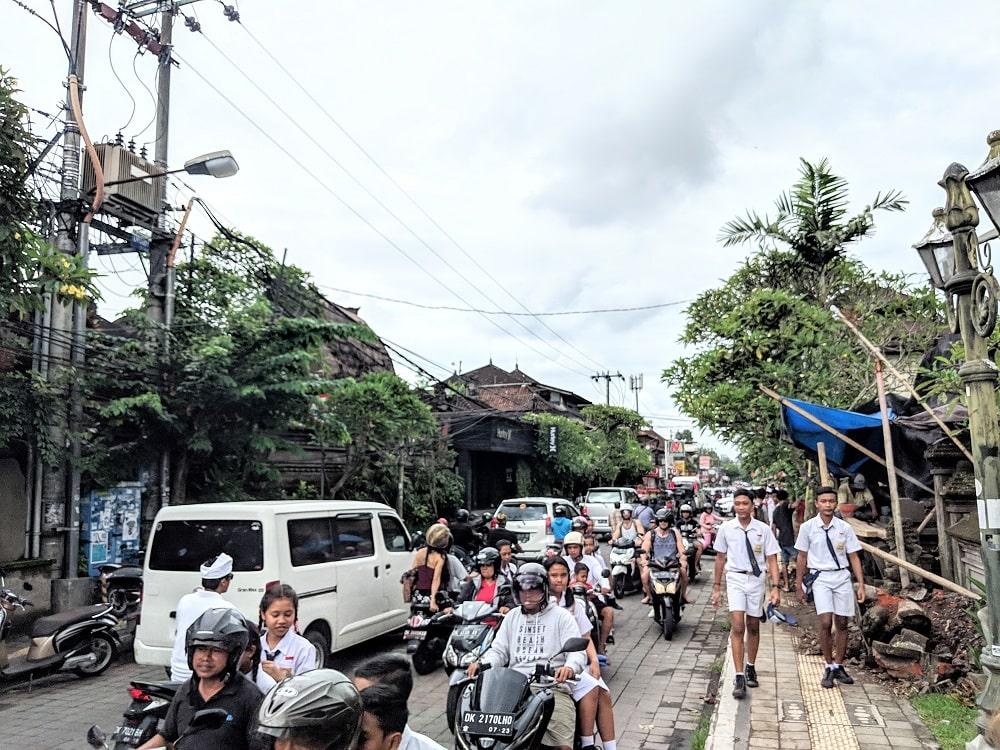 Bali - Insel der Gegensätze - It's a travel thing - Blog -Verkehr auf Bali