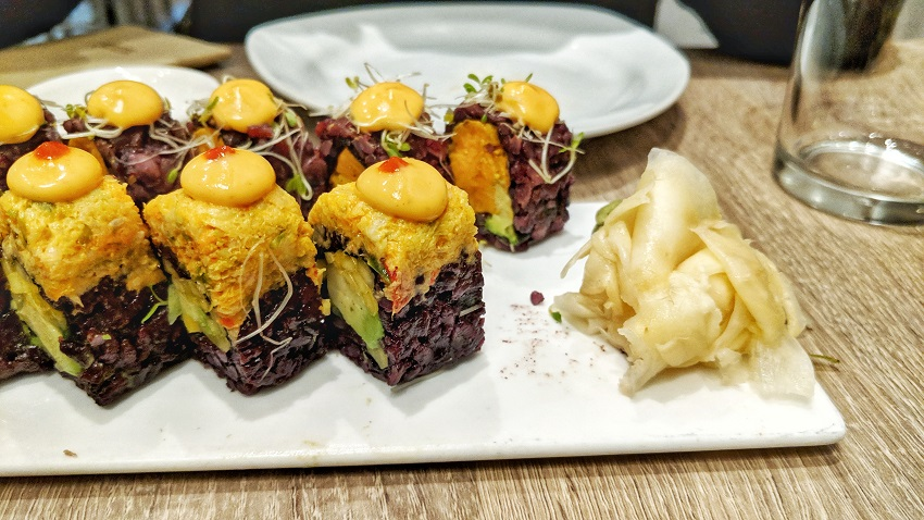 New York vegan - Beyond Sushi - Sushi Rolls vegan