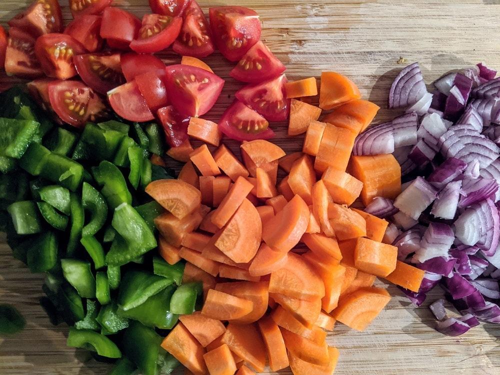 Wohlfühl-Challenge - Mittagessen vorkochen - Vegan abnehmen