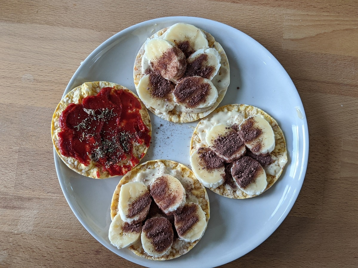 Wohlfühl-Challenge - Nachmittag Snack - Vegan abnehmen