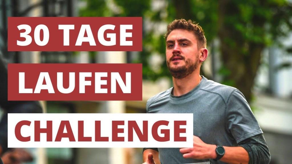 30 Tage laufen - Challenge