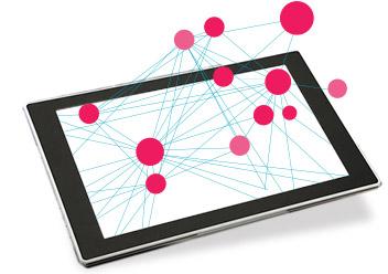ネットワーク全体の構成の把握ができます