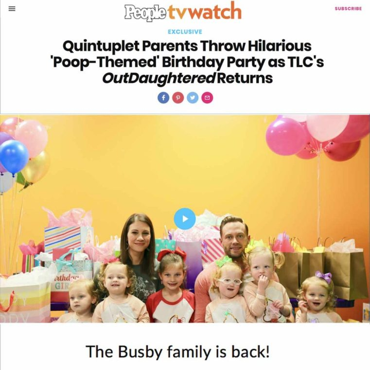 The Busbys are BACK for a new season of OutDaughtered | It's a Buzz