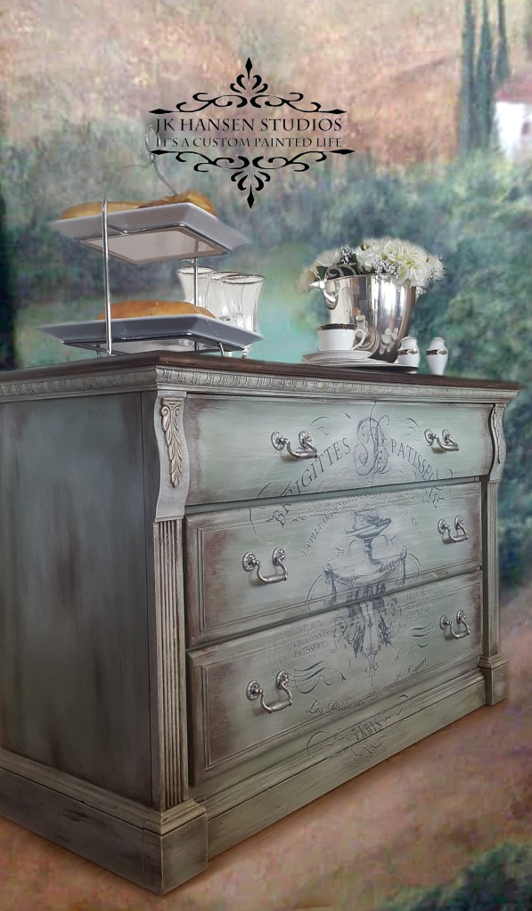 How To Transform A Vintage Dresser Into A Shabby Chic French