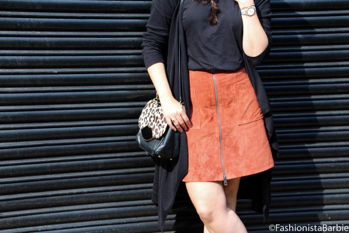 suede mini, suede skirt,ttya x long tall sally, long tall sally, fashionista barbie, style post, fashion, autumn essential