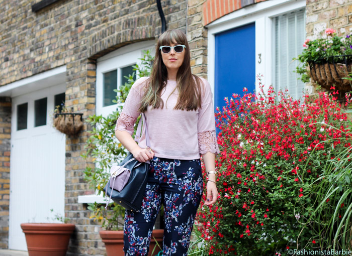 Bucket Bag, Harriet Sanders, Asos, Floral Trousers, Converse, Lensway, Fashionista Barbie, Style Post, Outfit, Fashion Blogger, Style Blogger, Top UK Blogger, Top Fashion Blogger