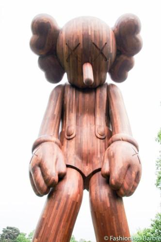 KAWS, Yorkshire Sculpture Park, Art, Modern Art, Lifestyle Blogger