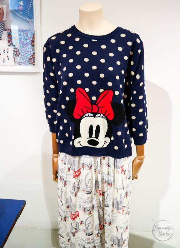 Disney x Cath Kidston, Cath Kidston, Disney, Winnie-the-Pooh, Minnie Mouse, Mickey Mouse, Floral, Fashion, Disney Collaboration, Fashionista Barbie