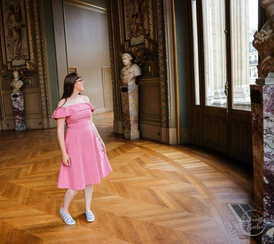 Palais Garner, Opéra Garnier, Paris, France, Travel, Style Post, Fashionista Barbie, Asos, Keds, Girl in Glasses, Pink Dress, Fashion Blogger, Style Blogger