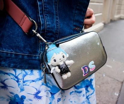 spring florals, wolf and whistle, floral skirt, floral, how to wear florals, denim jacket, primark, topshop, silver boots, how to style silver boots, how to wear a skirt with boots