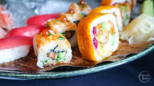 aqua kyoto, london spots, sushi, weekend brunch, brunch, sushi brunch, london eats, food, restaurant review