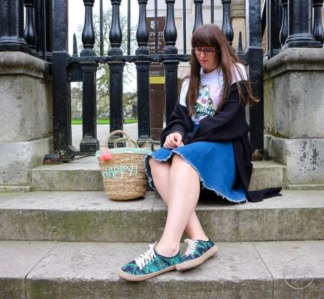matty bovan,barbie,selfridges,designer barbie,fashionista barbie,denim,straw bag,street style,style post,fashion blogger, UK fashion blogger