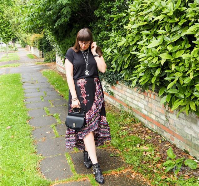 Izabel London, Summer Style, Rock Chick, Mango Bag, Mango, Chloe Dupe, Ego, Studded Boots, Real Outfit, Fashionista Barbie
