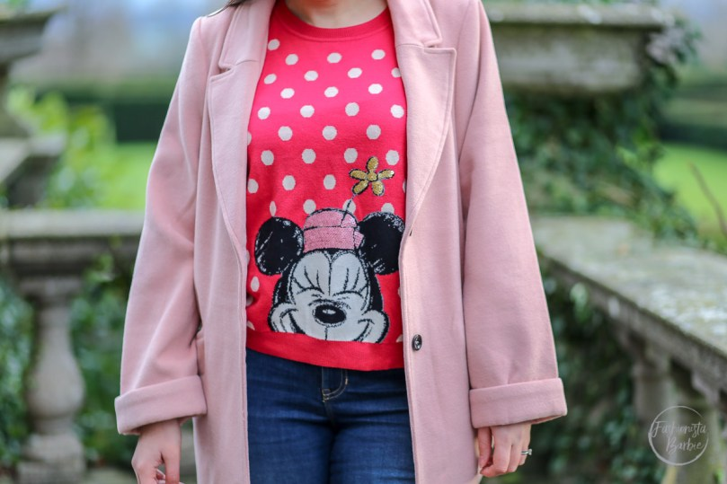 fashionista barbie,style post, 2017, fashion blogger uk, cath kidston, disney x cath kidston, minnie mouse,