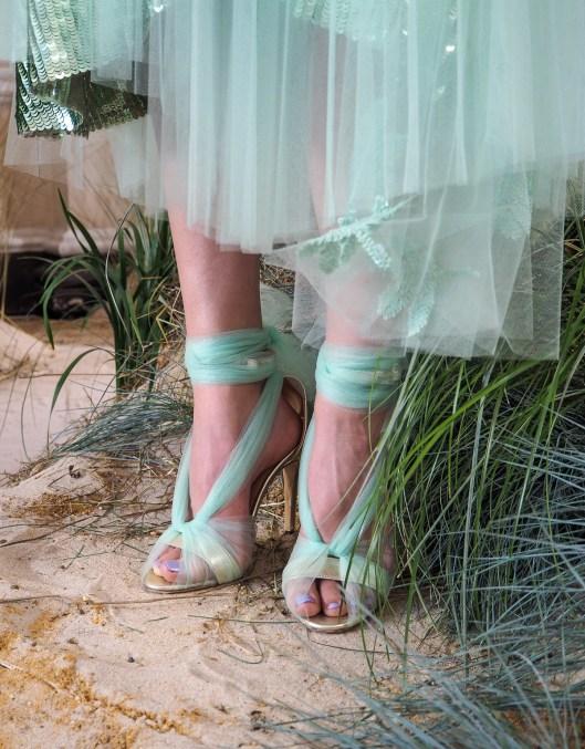 LFW, SS19, Markus Lupfer, London Fashion Week, fashion week, sequins, women's fashion, ready-to-wear fashion, designer label