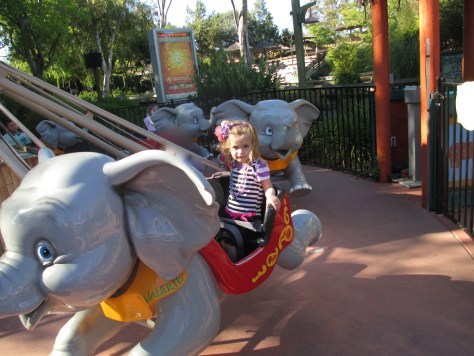 Six Flags Dumbo Ride