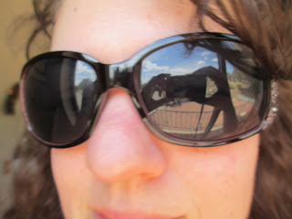 Giant Sunglasses Are Going Out Of Style