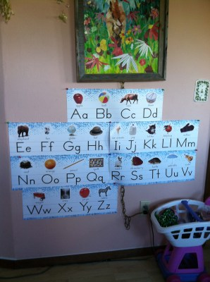I will not learn my ABC's