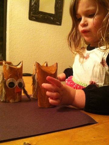 Snow Days Make Good Craft Days: This is what creative play is all about!