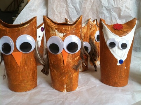 Snow Days Make Good Craft Days: Give a hoot!