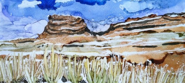 15 Landscapes Day 4 – Chaco Canyon