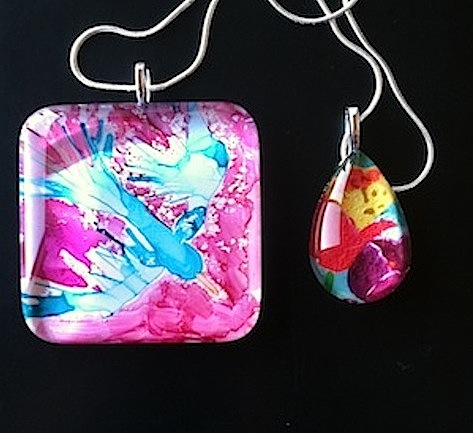 Art Pendant Necklaces
