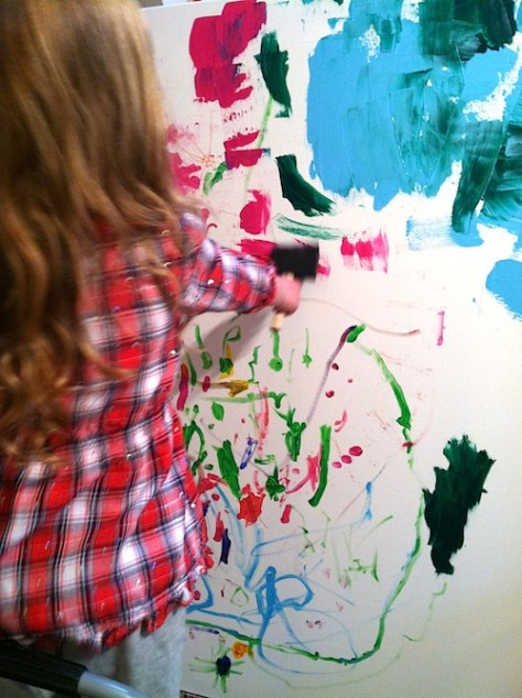 10 Tips For Creating Fine Art Paintings With Small Children