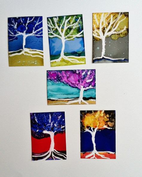 Kickstarter: Abstract Tree Paintings For Art Lovers And Tree Huggers