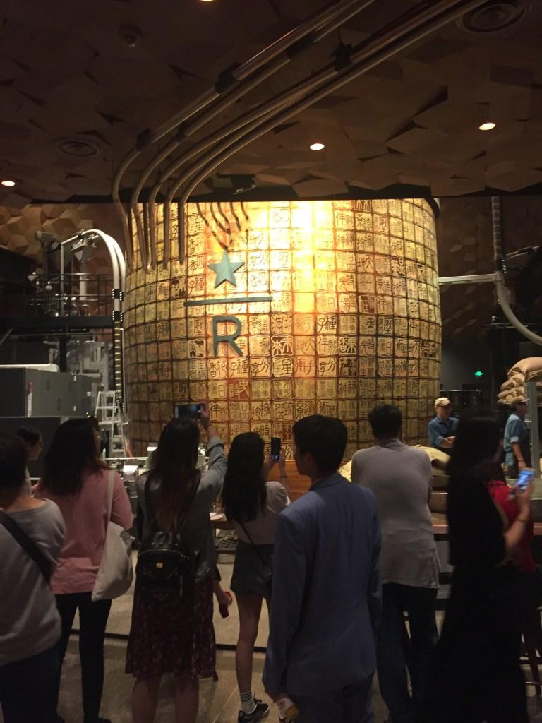 shanghai starbucks largest in the world